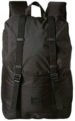 Herschel Retreat Mid-Volume Light (Black) Backpack Bags