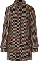 Wes Gordon Stretch-wool and angora-blend coat