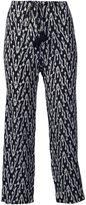 Figue 'Zamba' ikat print cropped trousers - women - Silk - XS