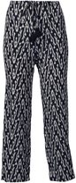 Figue 'Zamba' ikat print cropped trousers