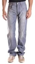 CNC Costume National Men's Light Blue Cotton Jeans.
