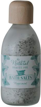 The Natural Beauty Pot Peppermint Bath Salts