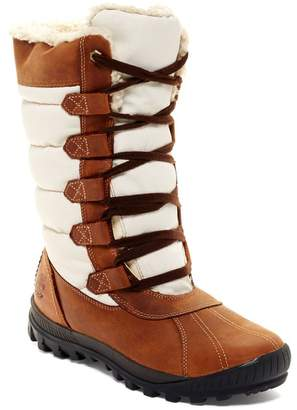 Timberland Mount Hayes Tall Waterproof Faux Shearling Lined Boot