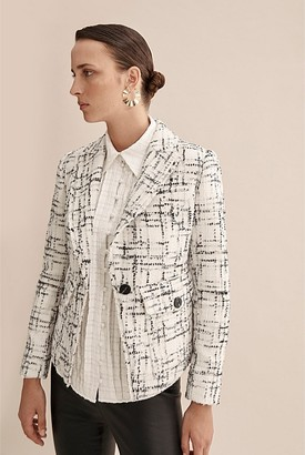 Country Road Tweed Single Breasted Blazer
