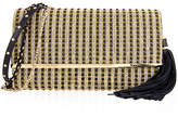 Judith Leiber Couture Manhattan Multi-Strap Crystal-Studded Clutch Bag