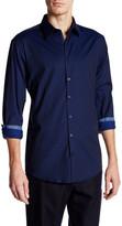 Lindbergh Spread Collar Regular Fit Shirt