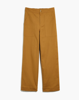 Madewell Duvall Button-Front Pants