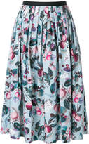 Antonio Marras pleated floral skirt
