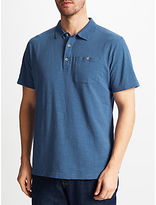 John Lewis Slub Cotton Polo Shirt