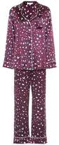 Olivia von Halle Lila Marilyn silk-satin pyjamas