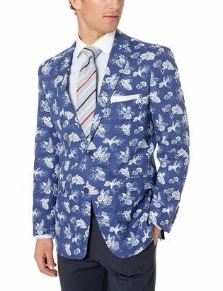 U.S. Polo Assn. Men's Cotton Linen Blend Sport Coat
