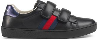 Gucci Children's Ace Signature sneaker