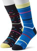 Men's Funky Socks 2-pack 80s Derby Socks