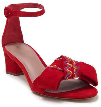Diane von Furstenberg Jo Lace Block Heel Sandal