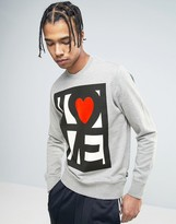 Love Moschino Stamp Logo Sweater