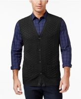 Tasso Elba Men's Big and Tall Chevron Sweater Vest, Only at Macy's
