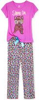 Max & Olivia 2-Pc. Shine On Pajama Set, Big Girls (7-16)
