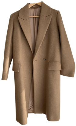 Cos Beige Wool Coats