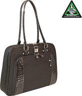 "Mobile Edge Women's Checkpoint Friendly Onyx Briefcase- 16""PC/17""Mac"