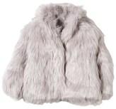 Molo Grey Faux Fur Hester Coat