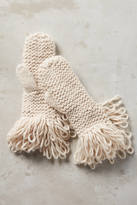 Anthropologie Looped Mittens