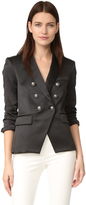 Veronica Beard Empire Double Breasted Cutaway Blazer