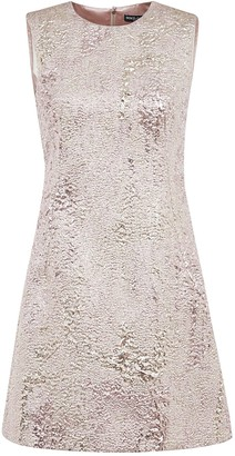 Dolce & Gabbana Metallic Sleeveless Dress