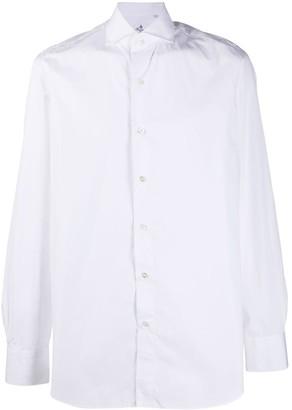 Finamore 1925 Napoli Slim-Fit Long-Sleeved Shirt