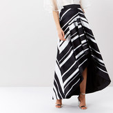 Coast Carly Stripe High Low Skirt