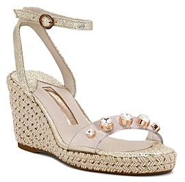 Sophia Webster Women's Dina Crystal Embellished Platform Sandals