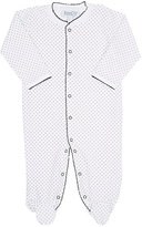 Baby CZ Dot-Print Pima Cotton Footie