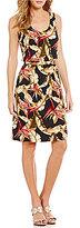 Tommy Bahama Pajaro de Paradise Scoop Neck Printed Dress