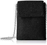 Jessica McClintock Savannah Ball Mesh Phone Shoulder Bag