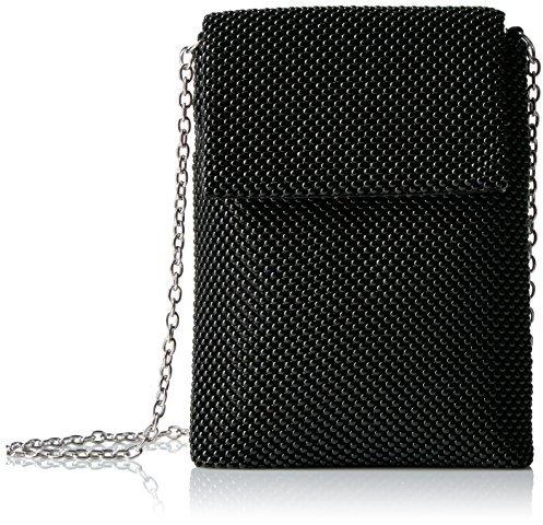 Jessica McClintock Savannah Ball Mesh Phone Shoulder Bag