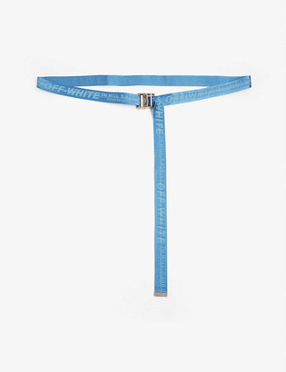 Off-White Classic industrial tape jacquard belt