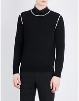 Givenchy Chain-detailed Knitted Jumper