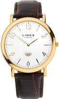 Links Of London Noble Yellow-gold Plated Watch