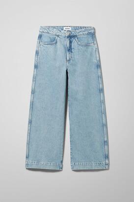 Weekday Vida Jeans Pen Blue - Blue