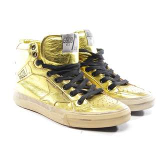 Golden Goose 2.12 Metallic Leather Trainers