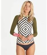 Billabong Women's Surf Capsule Neoprene Peeky Jacket Zip Rashguard