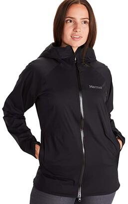 Marmot PreCip(r) Stretch Jacket (Black) Women's Coat