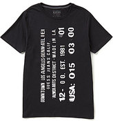 GUESS Stamped Short-Sleeve Graphic Tee