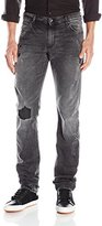 Versace Men's Slim Fit Marty Script Jean