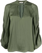 Zadig & Voltaire Twenty loose-fit blouse