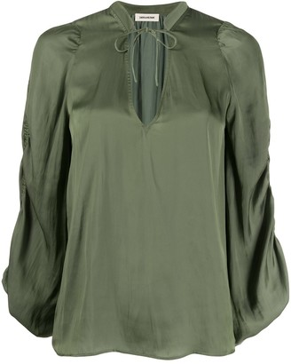 Zadig & Voltaire Twenty loose-fit blouse