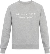 Burberry Taydon cotton-jersey sweatshirt