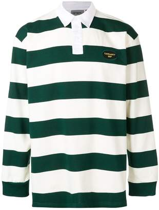 Carhartt WIP striped polo shirt