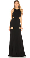 Jay Godfrey Becker Gown in Black