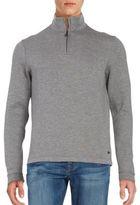 HUGO BOSS Quarter-Zip Pullover