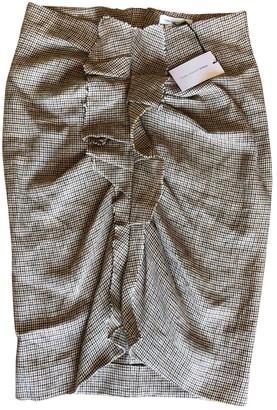 Etoile Isabel Marant Beige Linen Skirt for Women